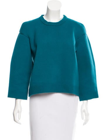 Miu Miu Wool Crew Neck Sweater None