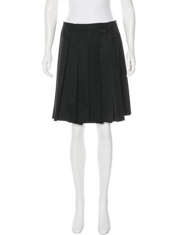 Miu Miu Wool Mini Skirt