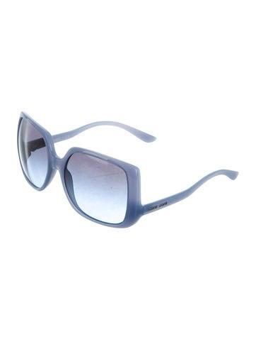 Logo-Embellished Square Sunglasses