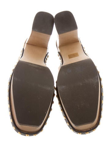 Satin Platform Clogs