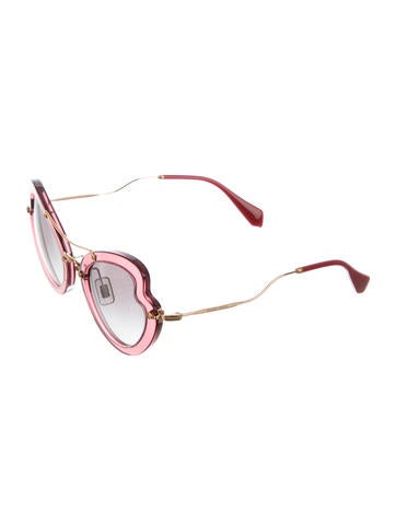 Butterfly Shaped Sunglasses w/ Tags
