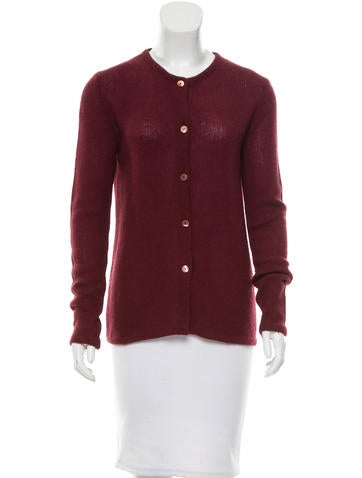 Miu Miu Cashmere Button-Up Cardigan None