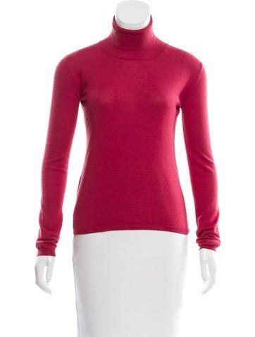 Miu Miu Cashmere Turtleneck Sweater None