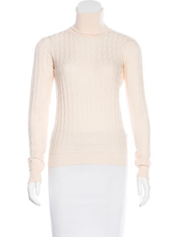 Miu Miu Wool Turtleneck Sweater None