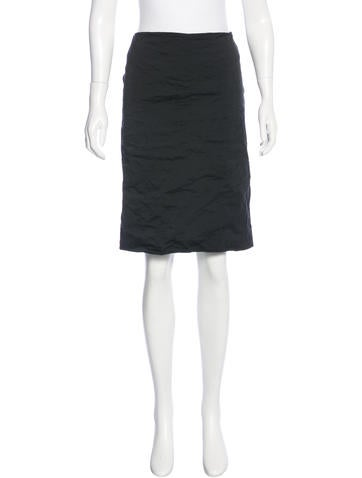 Miu Miu Knee-Length Pencil Skirt w/ Tags