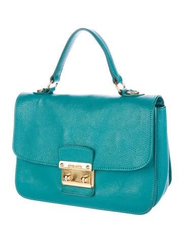 Madras Leather Bag