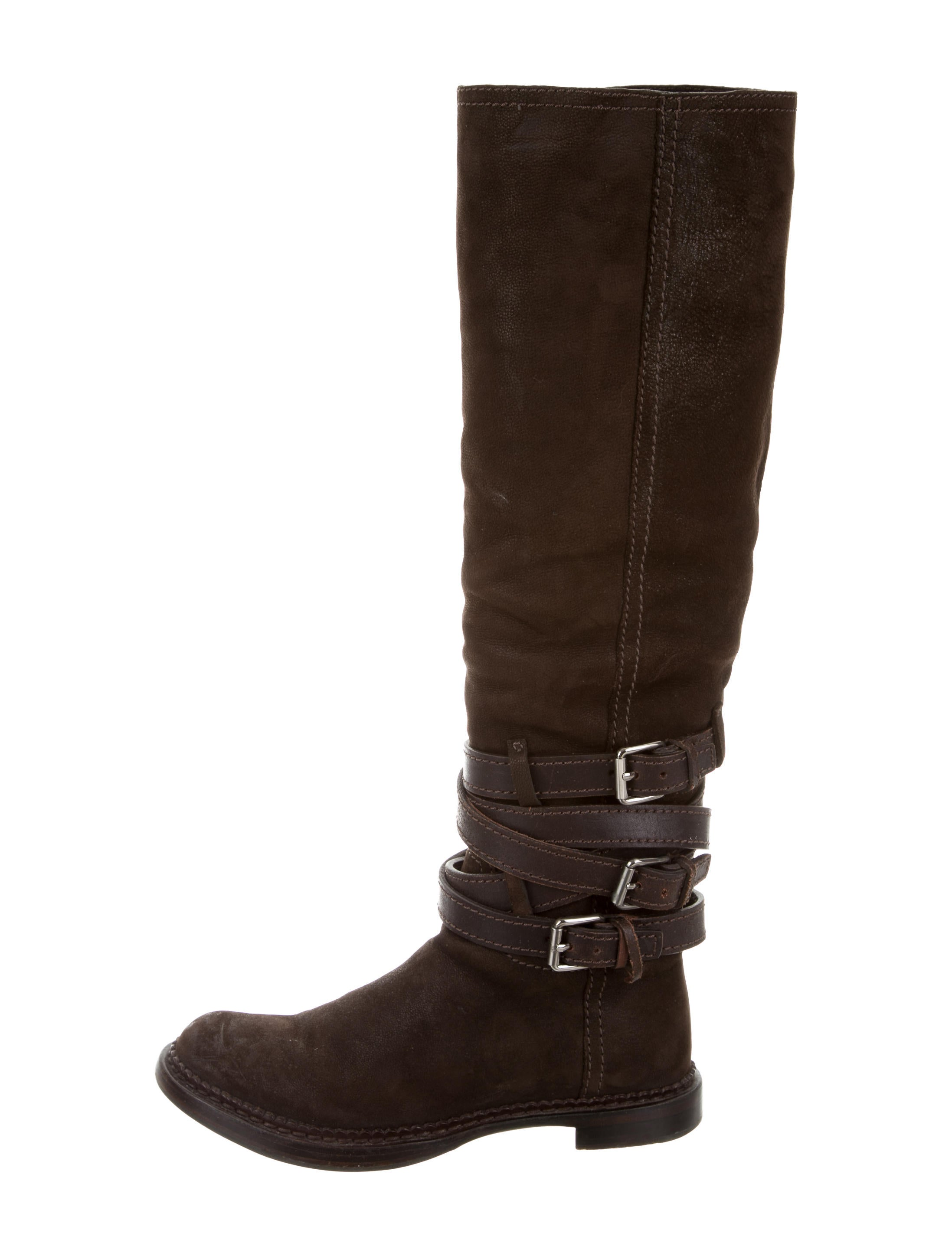 miu miu suede the knee boots shoes miu48338 the