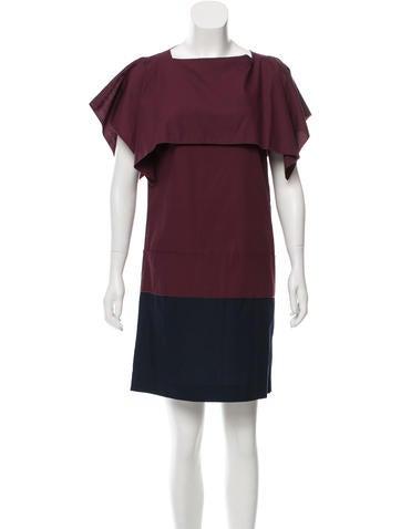 Miu Miu Colorblock Mini Dress None