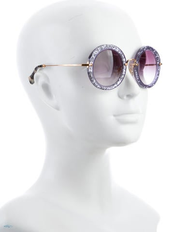 143bd0ca05c2 Miu Miu Noir Glitter Sunglasses - Bitterroot Public Library