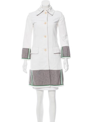Miu Miu Knee-Length Knit Coat None