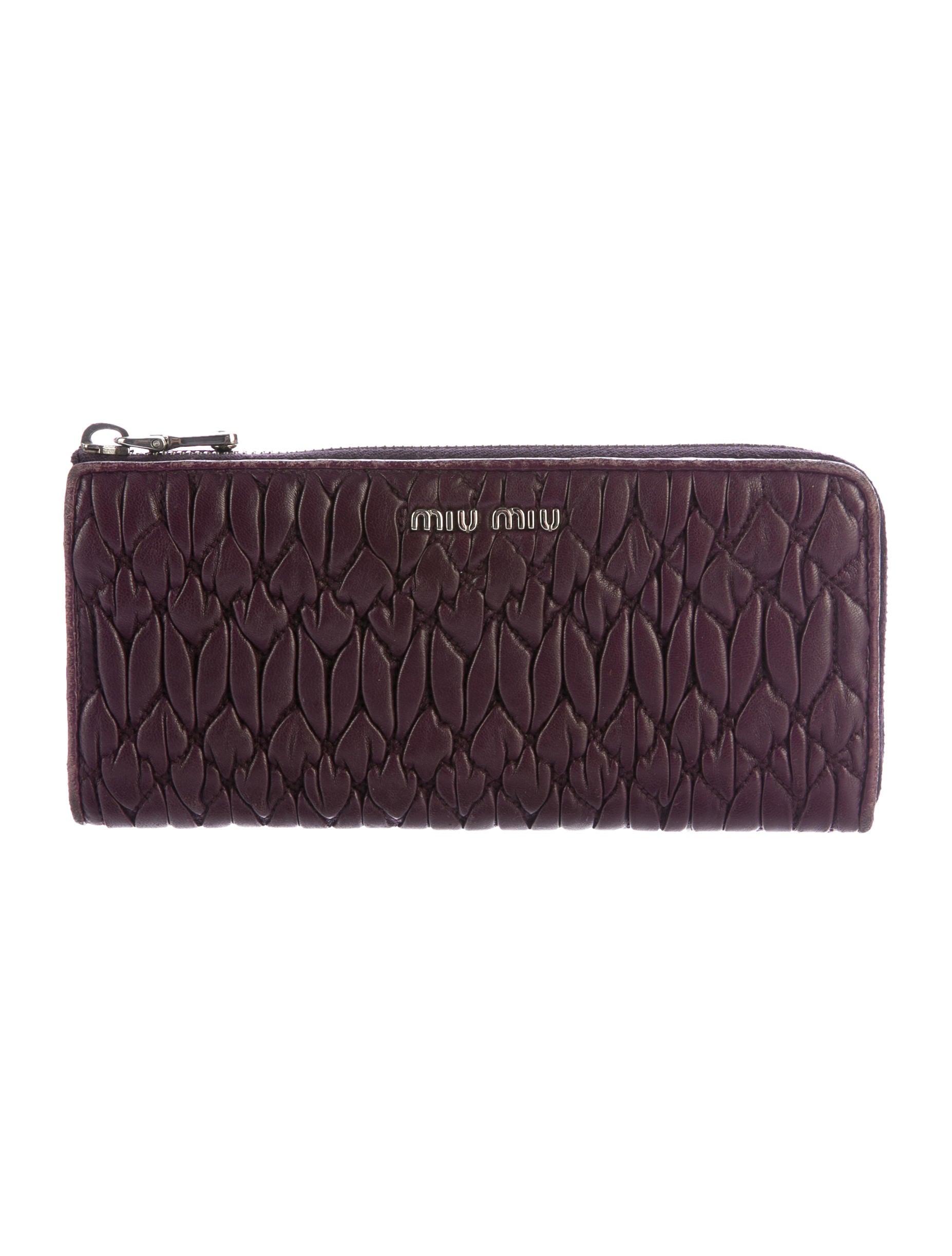 e55e52c0a4b Miu Miu Wallet On Sale