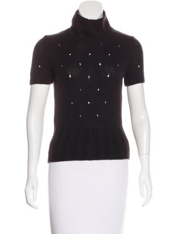 Miu Miu Wool & Mohair-Blend Top None