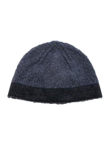 Miu Miu Wool-Blend Rib Knit Beanie None