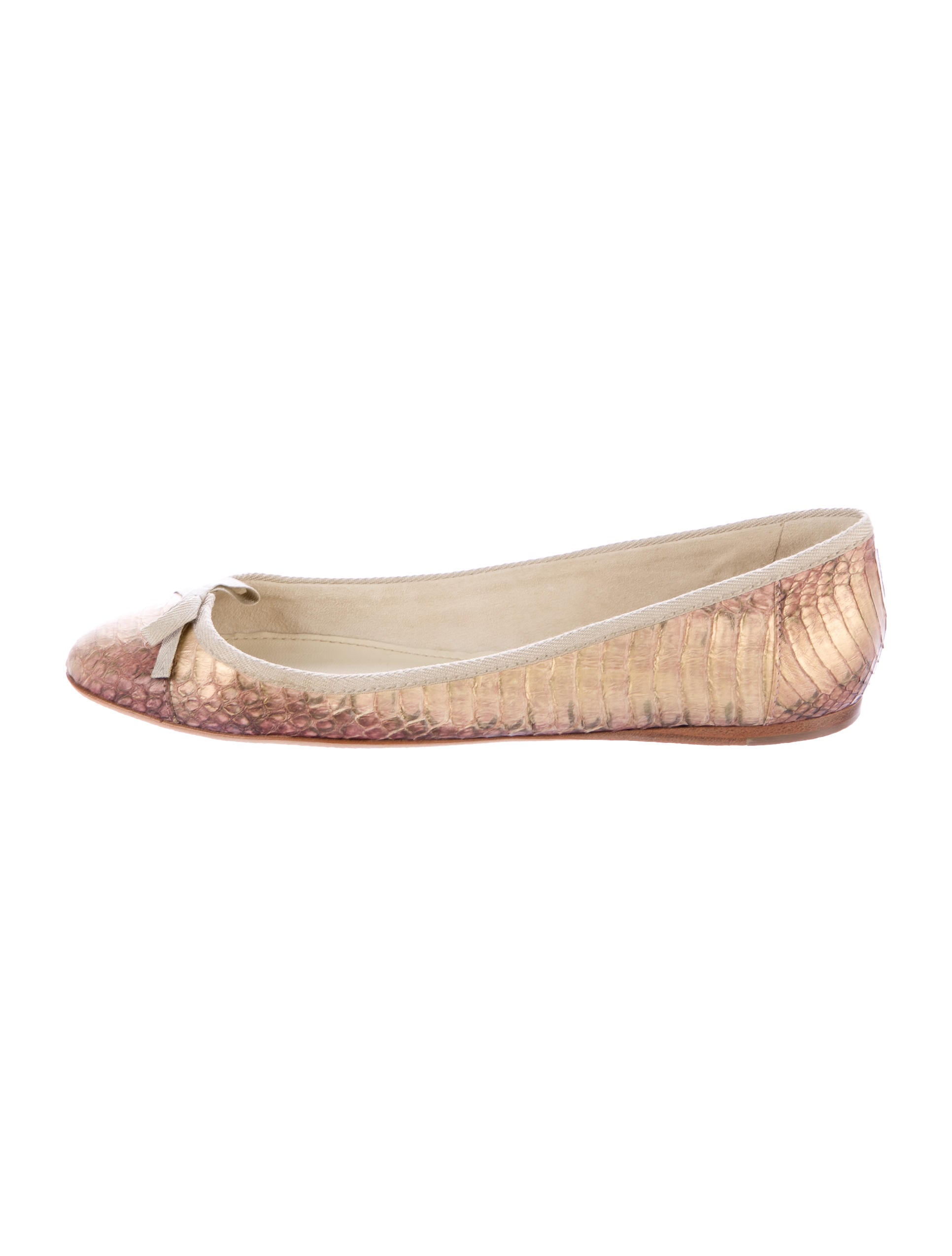 Miu Miu Snakeskin Bow Flats footlocker pictures for sale cheap sale footlocker free shipping limited edition sale very cheap cheap sale best sale mdwdWaIQy5