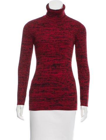 Miu Miu 2016 Mélange Turtleneck Sweater None