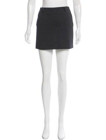 Miu Miu A-Line Mini Skirt None