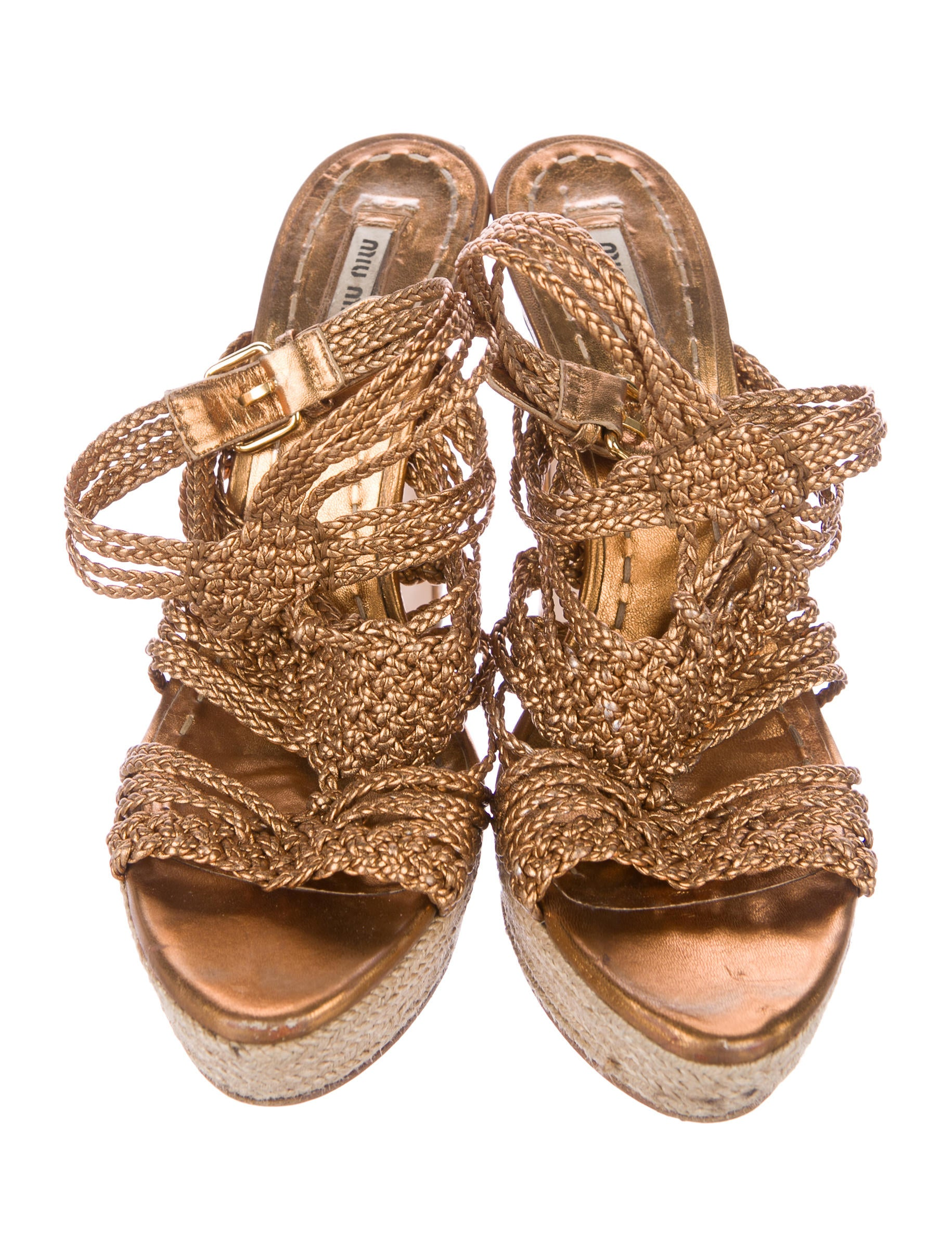 Miu Miu Braided Platform Sandals sale pre order buy cheap discounts free shipping new styles clearance looking for DBJttOZRLV