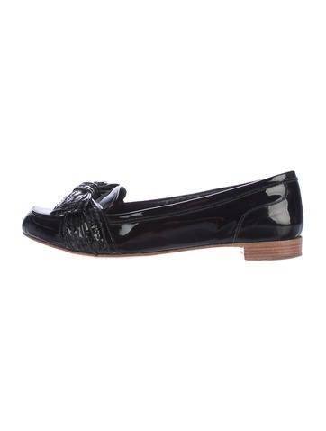 Miu Miu Bow-Accented Loafers None