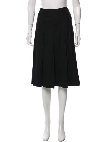 Miu Miu Pleated Skirt None