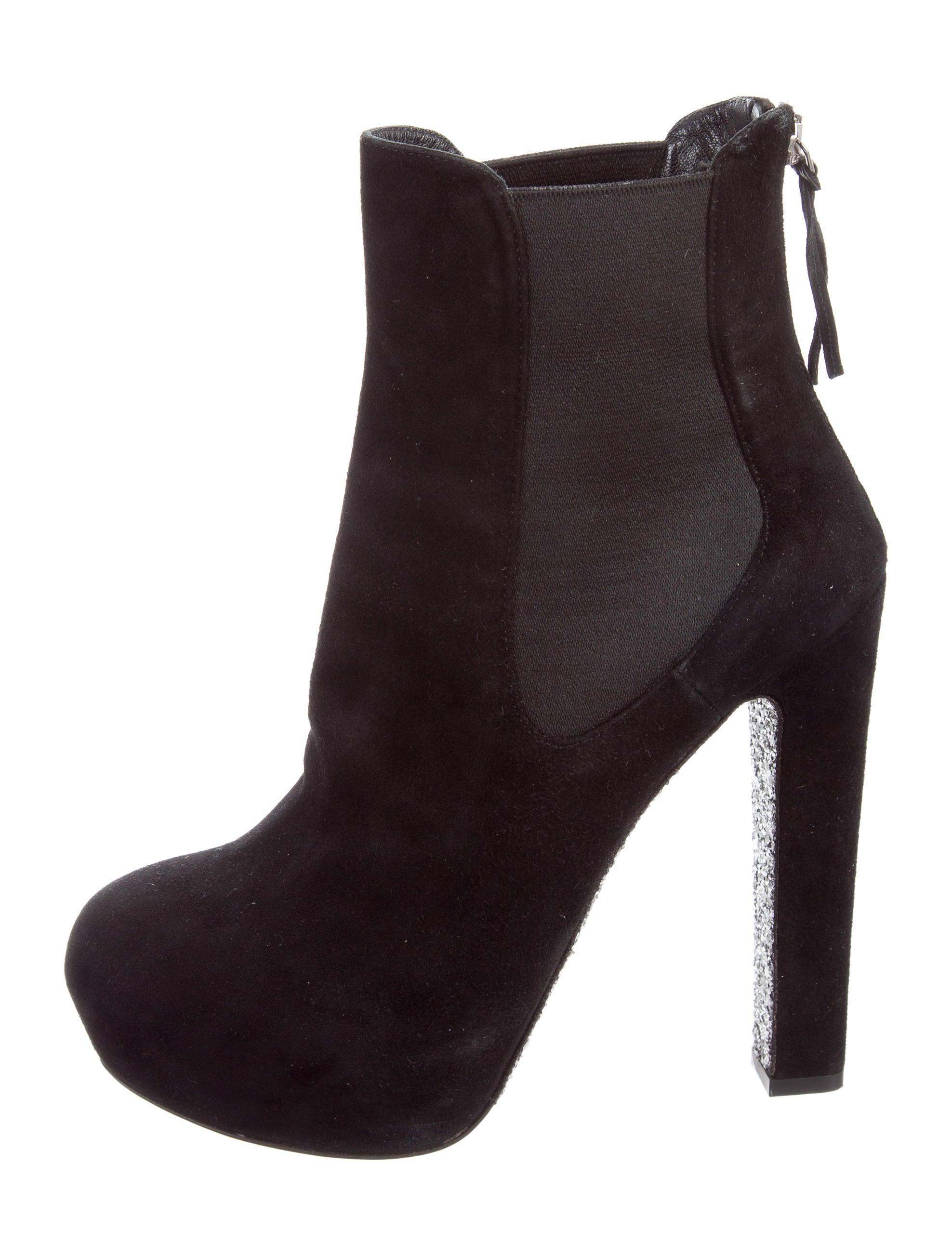miu miu suede platform ankle boots shoes miu54661
