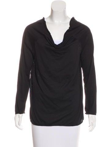 Miu Miu Long Sleeve Knit Top None