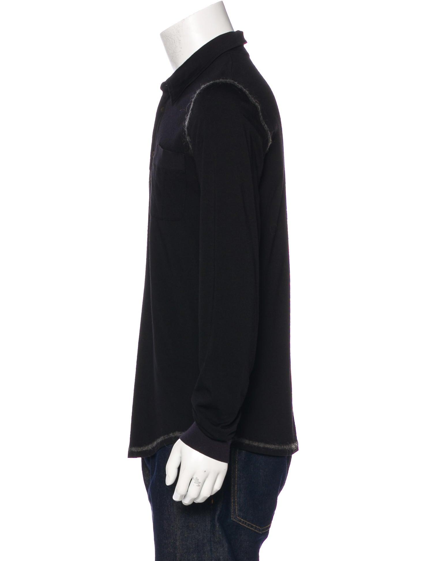 Miu miu virgin wool henley t shirt clothing miu55067 for Miu miu t shirt