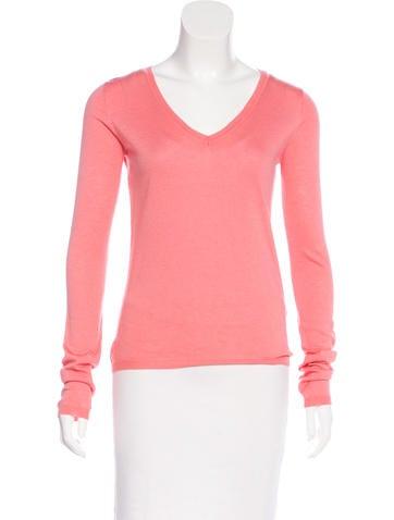 Miu Miu Cashmere Knit Sweatshirt None