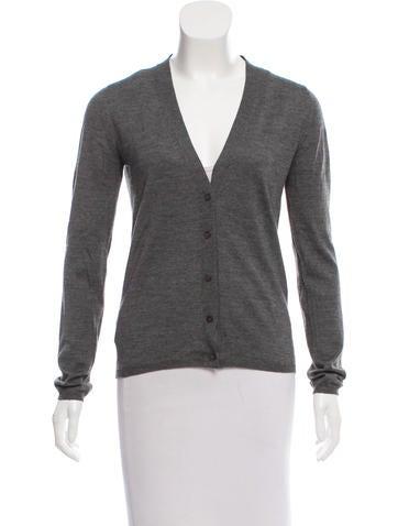 Miu Miu Cashmere Button-Up Cardigan None