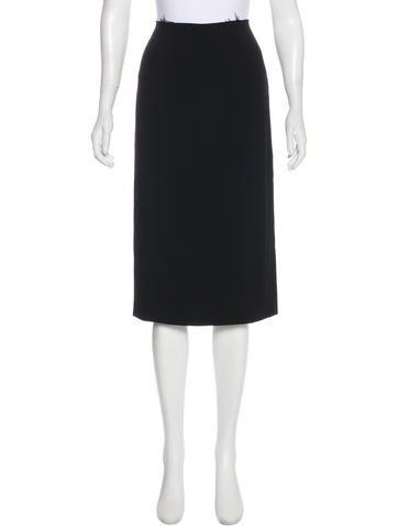 Miu Miu Knee Length Skirt None