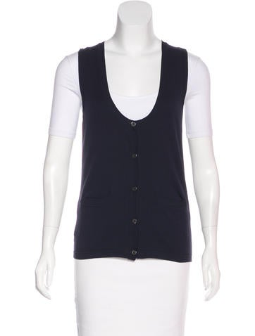 Miu Miu Rib Knit Vest None