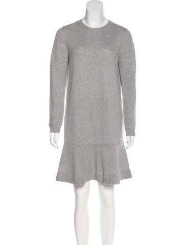 Miu Miu Wool Sweater Dress None