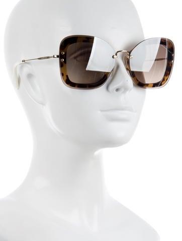 Reveal Rimless Sunglasses