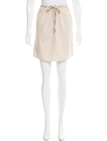 Miu Miu Knit Mini Skirt None