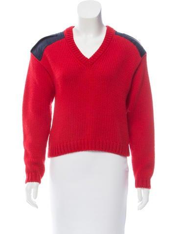 Miu Miu Virgin Wool Heavy Sweater None