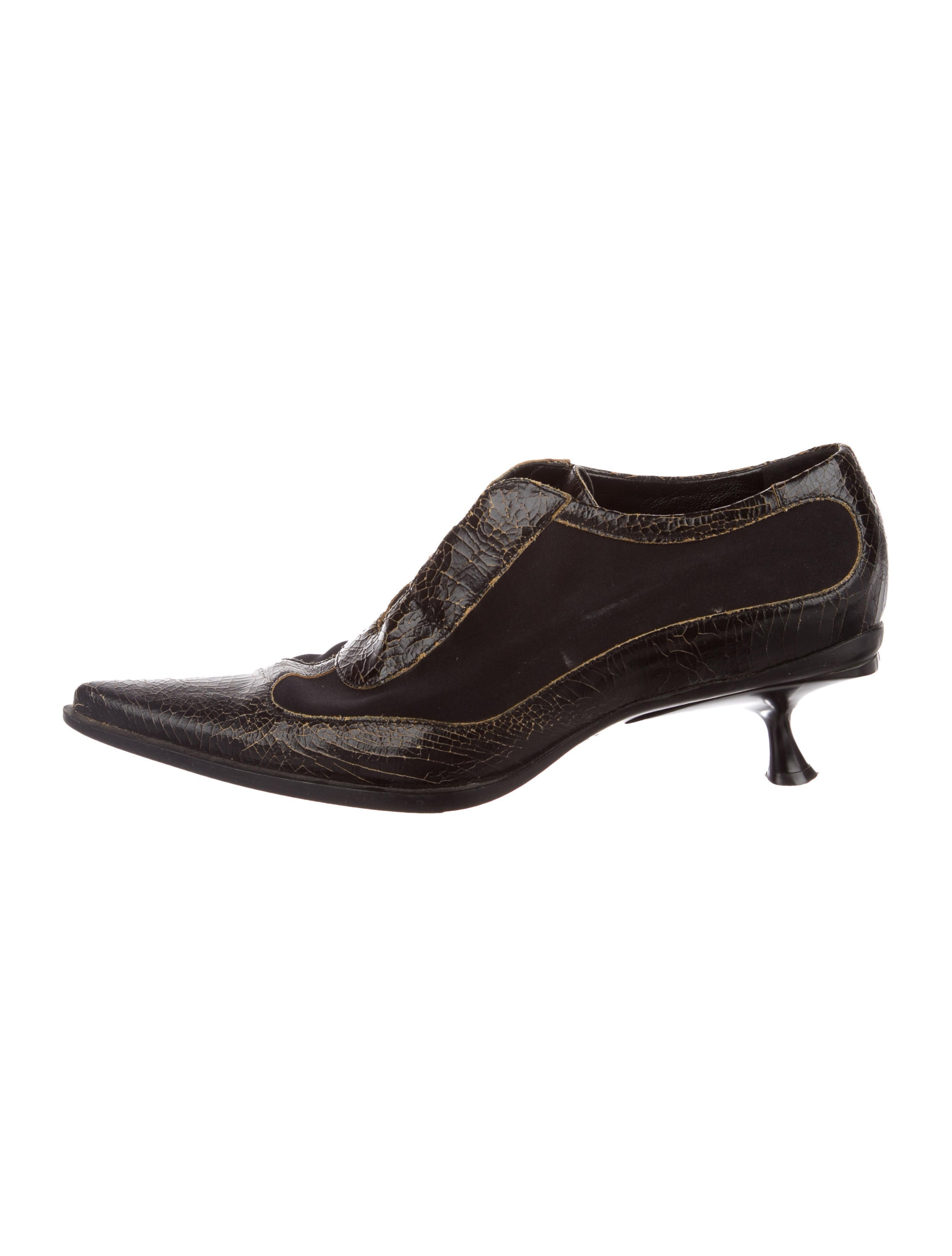 shopping online cheap price countdown package for sale Miu Miu Cracked Leather Oxfords buy cheap pay with paypal 8E193nM
