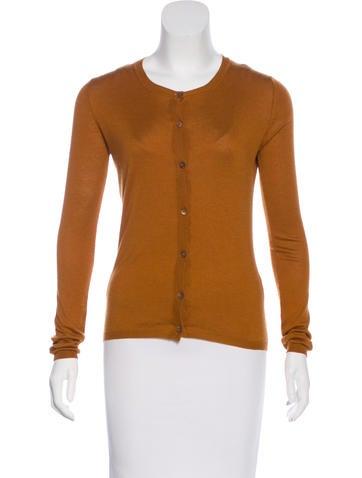 Miu Miu Long Sleeve Button-Up Cardigan None
