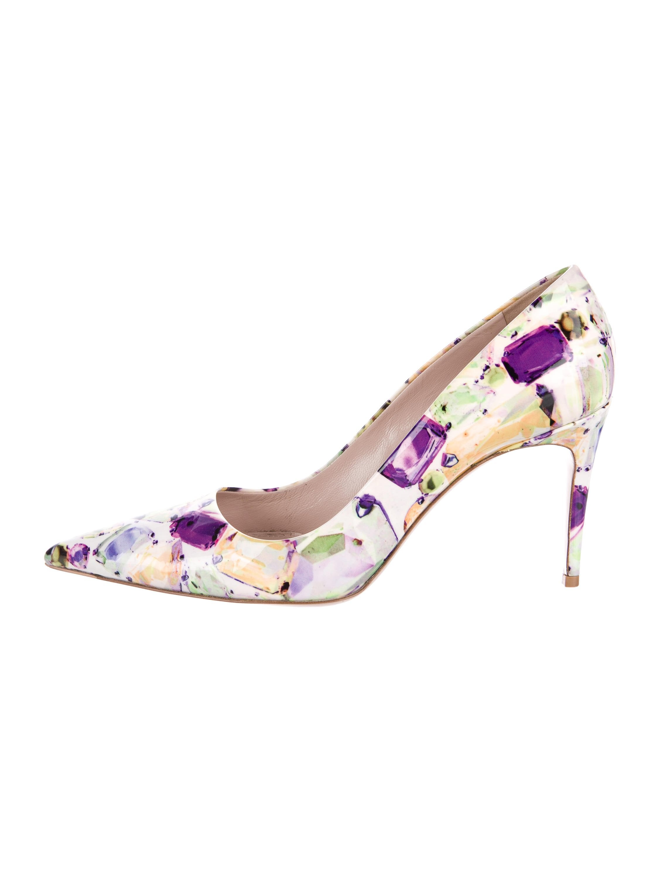 cost cheap online buy cheap cheap Miu Miu Gemstone Print Pointed-Toe Pumps clearance in China sale for sale mhSXFe4NQm