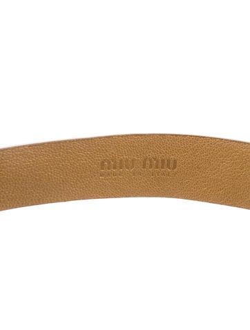 Metallic Embellished Belt
