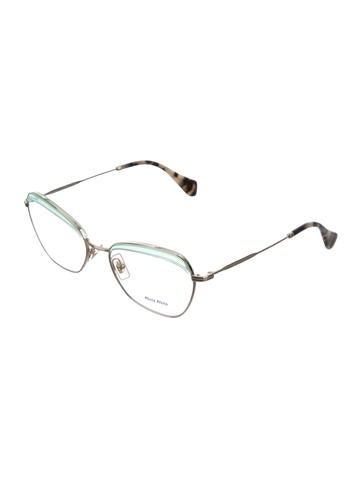Metal Cat-Eye Eyeglasses