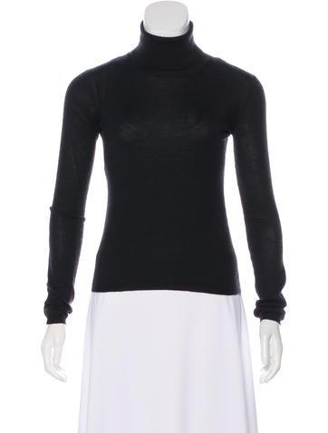 Miu Miu Ribbed Turtleneck Sweater None