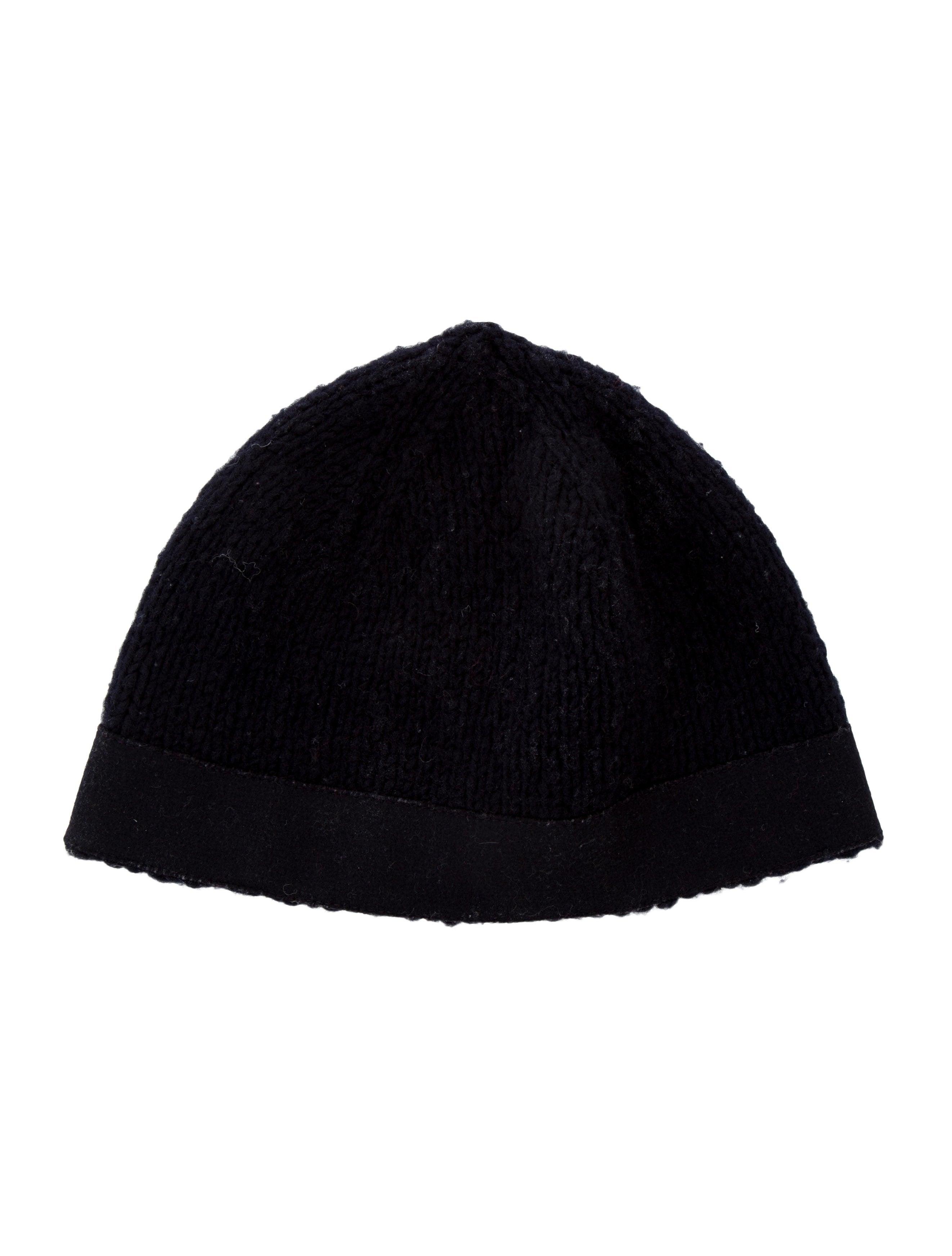 Miu Miu Wool Rib Knit Beanie - Accessories - MIU62216  60dbf5d1bc7