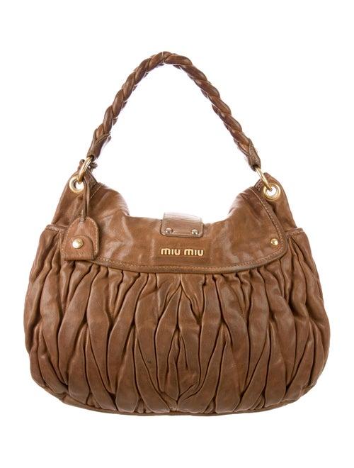 8711a8b3b2c1 Miu Miu Matelassé Coffer Bag - Handbags - MIU63118
