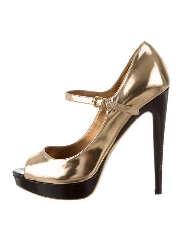 Balenciaga Platform Peep-Toe Pumps free shipping excellent clearance best prices 2981lmhYU