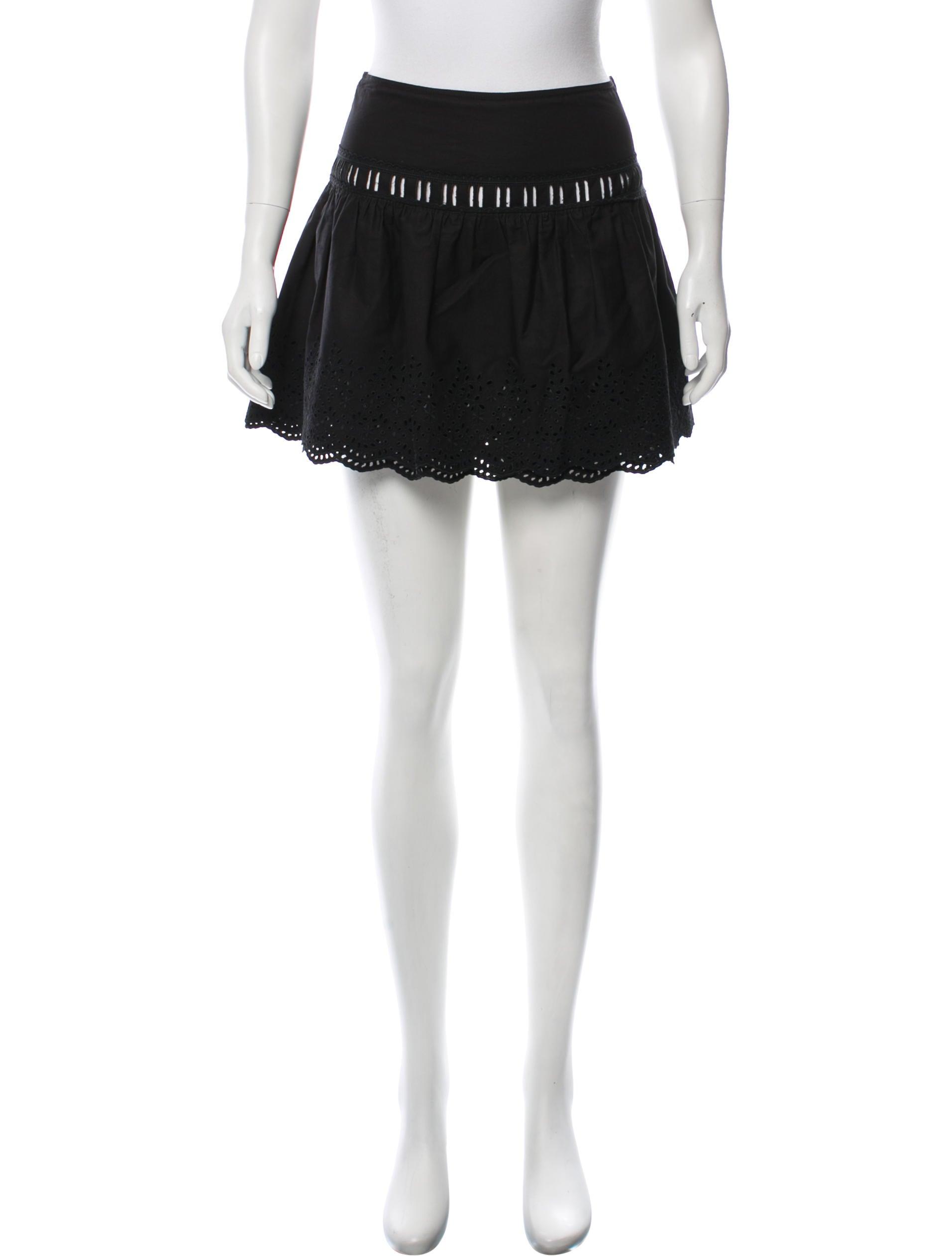 64784ec619e Miu Miu Eyelet Mini Skirt - Clothing - MIU65535