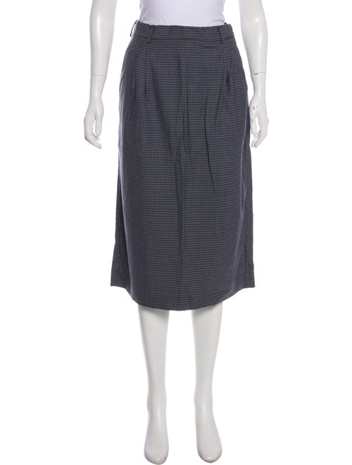 df64e72b5 Miu Miu 2018 Virgin Wool Midi Skirt - Clothing - MIU67340   The RealReal