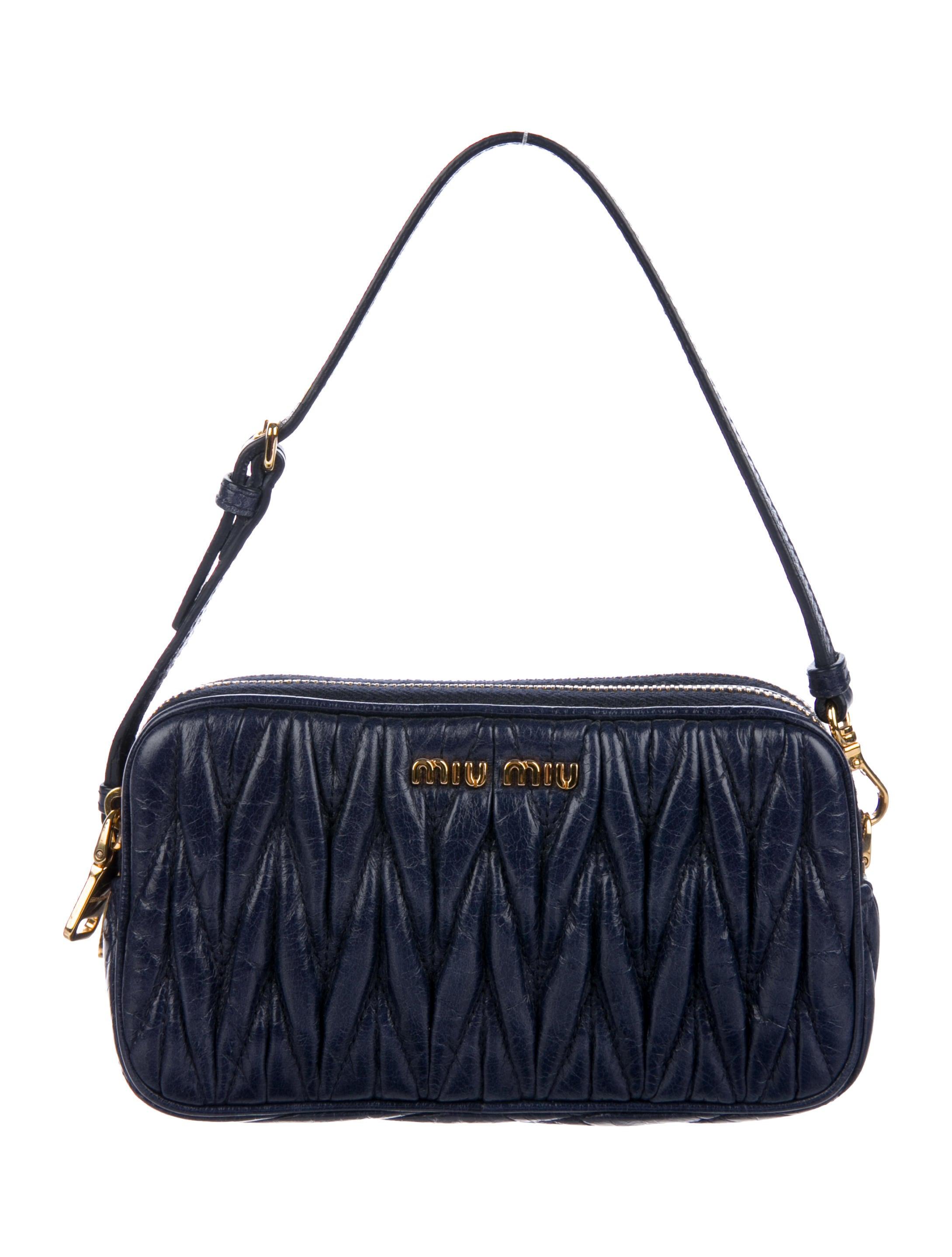 e8621197ff9 Miu Miu Matelassé Lux Clutch w  Tags - Handbags - MIU69271