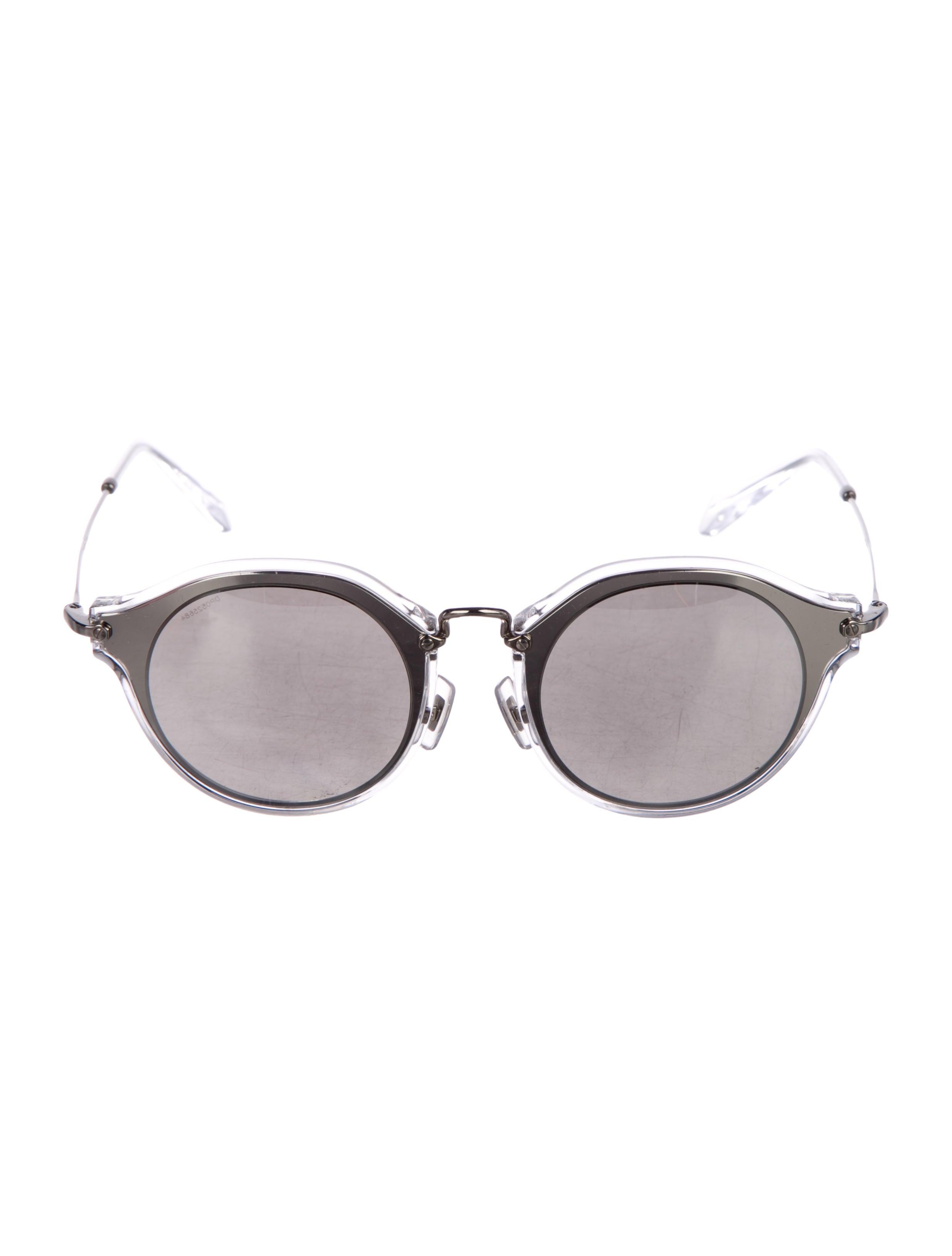 61d4f347f5c7 Miu Miu Noir Evolution Mirrored Sunglasses w  Tags - Accessories ...