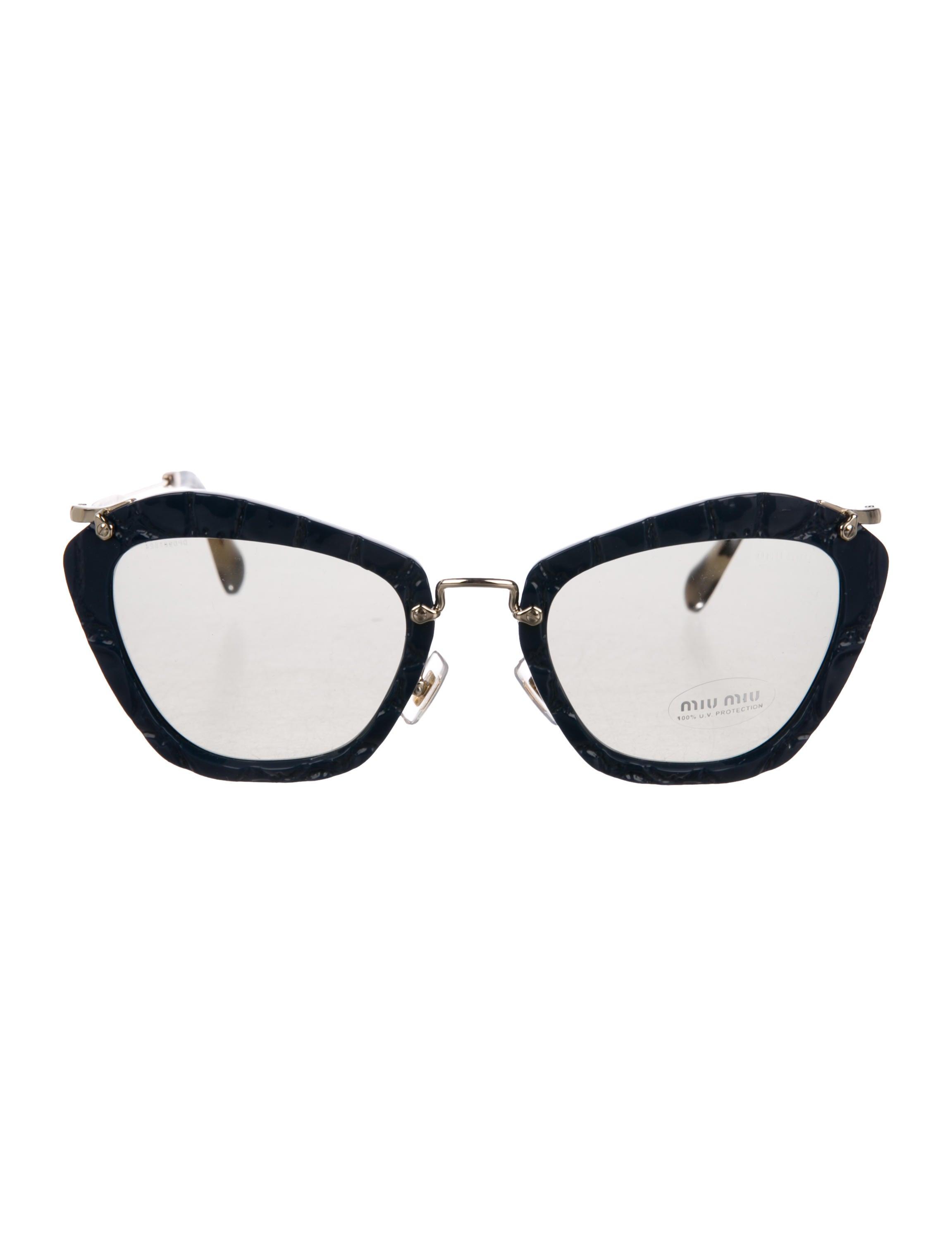 Tinted Cat Eye Sunglasses by Miu Miu