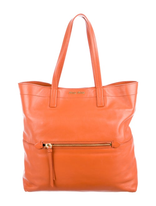 Miu Miu Vitello Soft Tote - Handbags - MIU78094  55b7f4c57e794