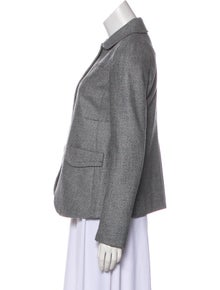 9f577c69216 Miu Miu. Wool   Cashmere-Blend Blazer